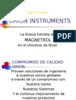 Orion Instruments SP