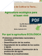 Agricultura Ecológica Para El Buen Vivir Agosto 2015