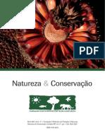Publicação - Natureza e Conservação - Boticario