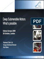 Deep Submersible Hayward Motors