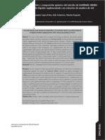 Cinética de Crecimiento y Composición Química Del Micelio de Lentinula Edodes