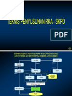 Teknis Penyusunan RKA SKPD