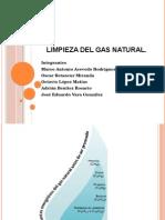 Limpieza del gas natural