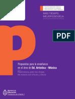 Propuestas para la enseñanza en el área de Ed. Artística - Música