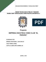 Estimacion de La Empresa Muebleria y Vidreria Agrirre