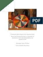 Formación Intercultural en Las Organizaciones