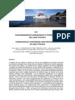 Funcionamiento Limnolog. y Fotobiolog. Del Lago Titicaca