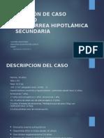 Amenorrea Caso Clinico