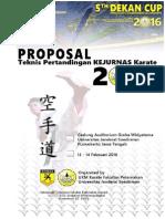 Proposal Kejurnas Karate 2016 English Version