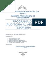 Programa de Auditoria Expocision