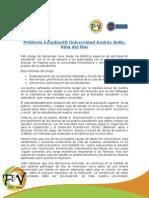 Petitorio Estudiantil Universidad Andrés Bello