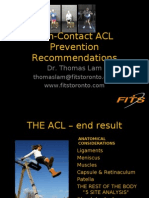 ACL Prevention TDSB
