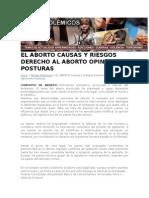 EL ABORTO CAUSAS Y RIESGOS DERECHO AL ABORTO OPINIONES POSTURAS.docx