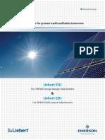 Liebert Esu Energy Storage Solar Inverter