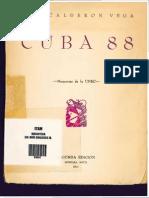 Luis Calderon Vega, Cuba 88 Memorias de la UNEC pdf