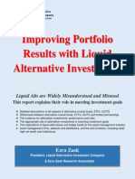 Improving Portfolio Results with Liquid Alternative Investments