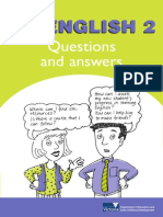 no english 2 questions and answers