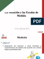 Tema 6 - La Medición y Las Escalas de Medida