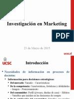 Tema 1 - Investigación en Marketing