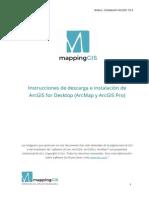 Descarga e Instalacion ArcGIS 10 3