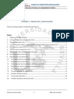 UD. 3. Selección y Bienvenida