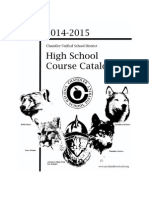 2014 - 2015 Course Catalog Cte Group Final With Cover