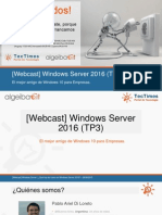 Windows Server - ¿Qué Hay de Nuevo en Windows Server 2016TP3