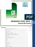 Microsoft Office Excel 2010- Intermedio