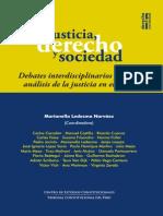 Justicia,Derecho y Sociedad