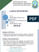 FIBRAS MONOMODO