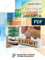 Ekspor Dan Import Provinsi DKI Jakarta 2014