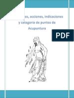 Meridianos, Acciones, Indicaciones y Categoría de Puntos de Acupuntura.pdf