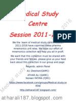 Pharmacology - Mnemonics.pdf
