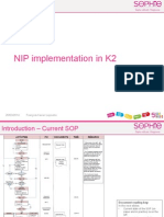 NIP Implementation in K2
