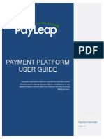 PayLeap User Guide