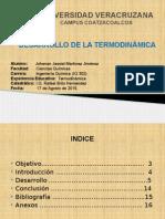 Presentación de Termodinámica