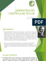 Administración Científica de Teylor