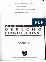 Manual de Derecho Constitucional Tomo 1