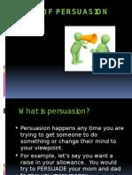 Art of Persuassion