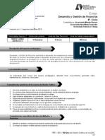 Programa Desarrollo y Gestión de Proyectos FARUSAC