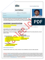 Saad Ahmed Siddiqui - Electronics Engineer