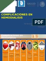 Complicaciones en Hemodialisis