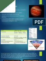 Exposicion Geologia Jupiter y Saturno