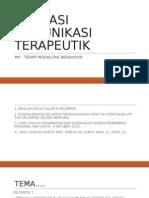 aplikasikomunikasiterapeutik-131129222912-phpapp01.ppt