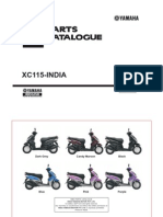 YAMAHA XC115-INDIA CATALOGUE