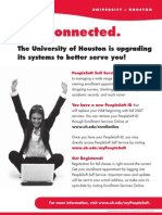 PeopleSoft ID Flyer