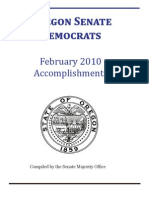 2010 End of Session Report