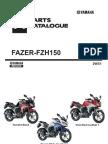 YAMAHA FAZER-FZH150 CATALOGUE