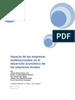 Impacto de las multinacionales en las empresas locales de El Salvador