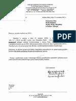 Rafał Hajdyła-wniosek budżetowy 2016